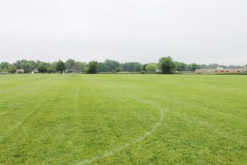 Soccer field at Apollo Park