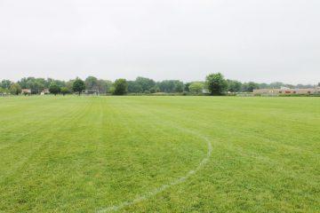 Soccer field at Apollo Park